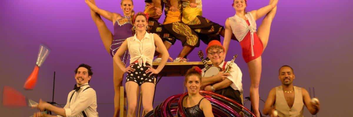 Ten Years of ICMS Support for Circus Quirkus, Manly Lions