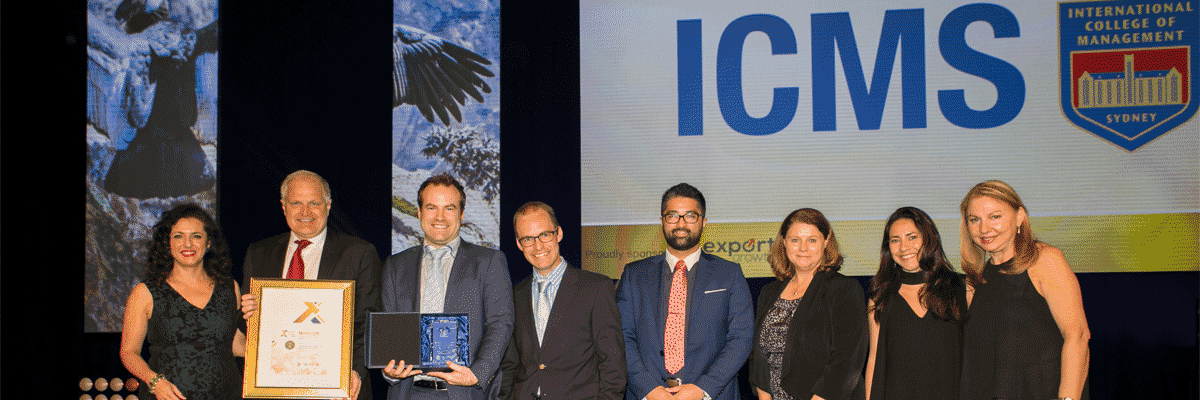 Top Honours for ICMS at 2017 NSW Premiers Export Awards